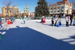 Ice Skating at David Street Station