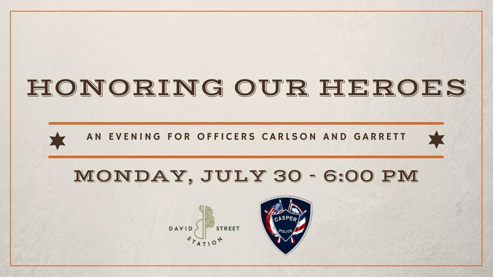 Honoring Our Heroes: An Evening for Officers Carlson and